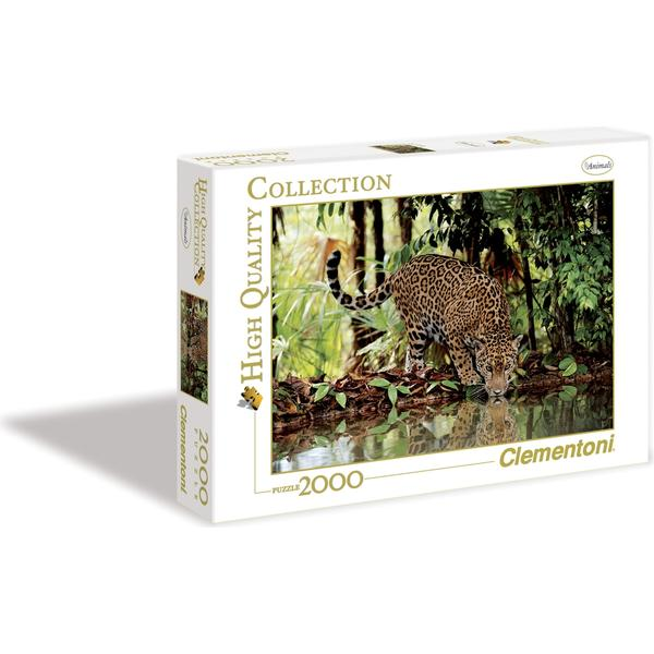 Clementoni High Quality Collection Leopard 2000 Pieces