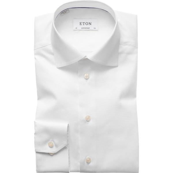 Eton Signature Twill Shirt White