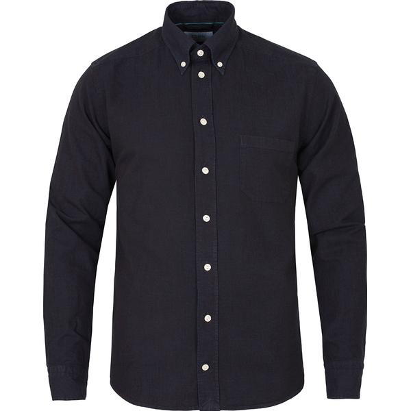 Eton Denim Shirt Navy