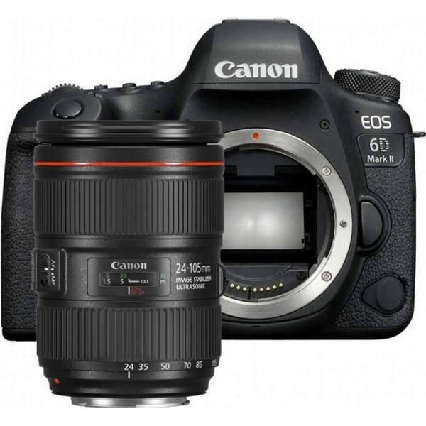 Canon EOS 6D Mark II + 24-105mm IS II USM