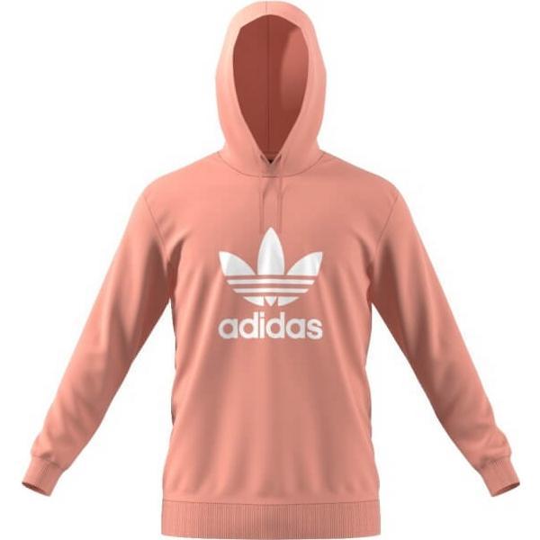 Adidas Trefoil Warm-Up Hoodie Dust Pink