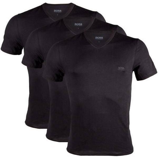 Hugo Boss Regular-Fit Cotton T-shirts 3-pack Black