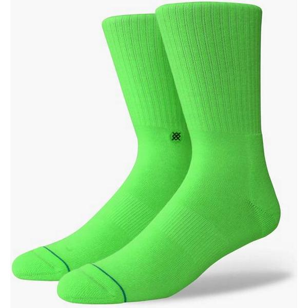 Stance Icon Anthem Socks Floresecent Green