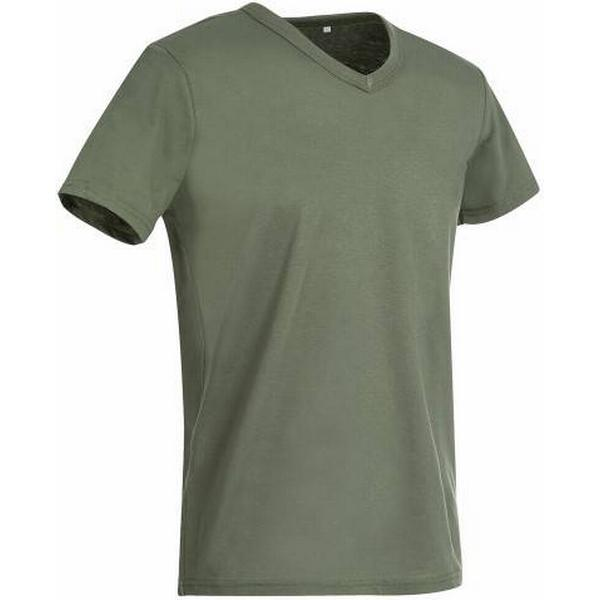 Stedman Ben V-neck T-shirt - Military Green