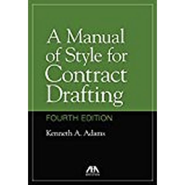 A Manual of Style for Contract Drafting (Häftad, 2018)