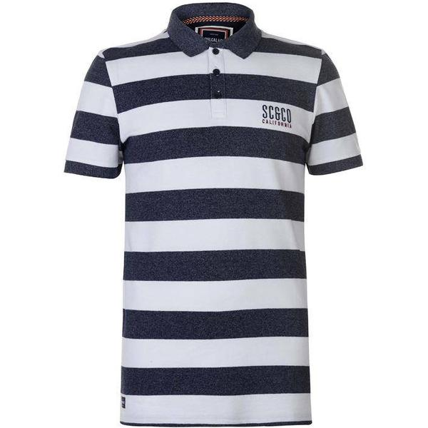 SoulCal Polo Shirt - Navy/White