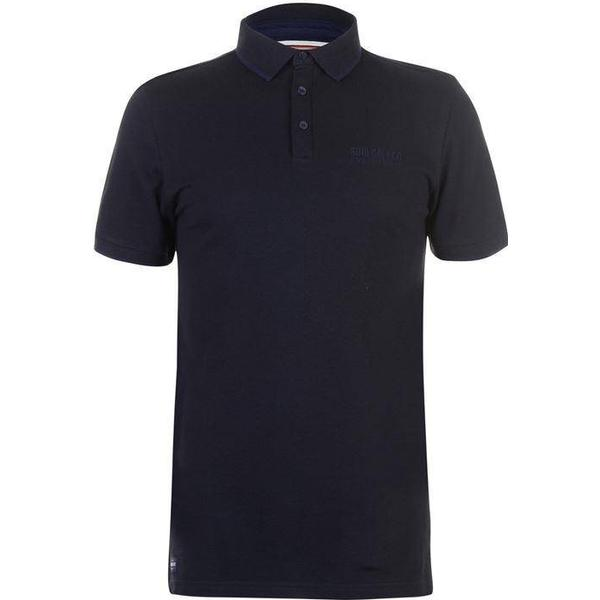 SoulCal Pique Polo Shirt - Navy/Black