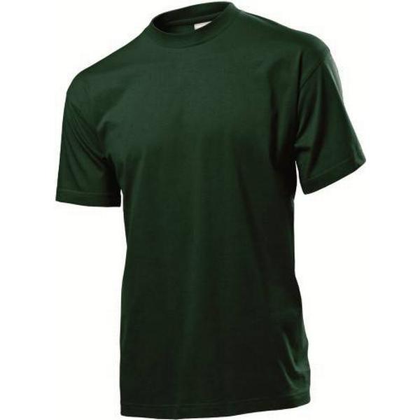 Stedman Classic Crew Neck T-shirt - Bottle Green