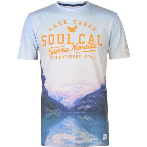 SoulCal Deluxe City T-shirt White