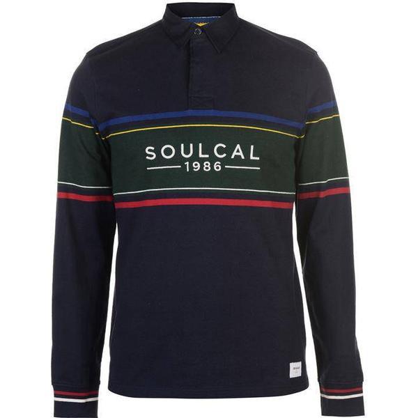 SoulCal Deluxe Rugby Sweatshirt - Navy