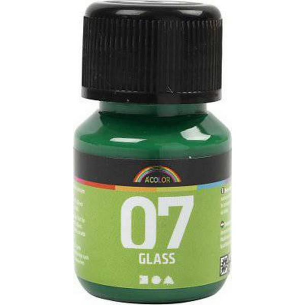 A Color Glass Paint Brilliant Green 30ml