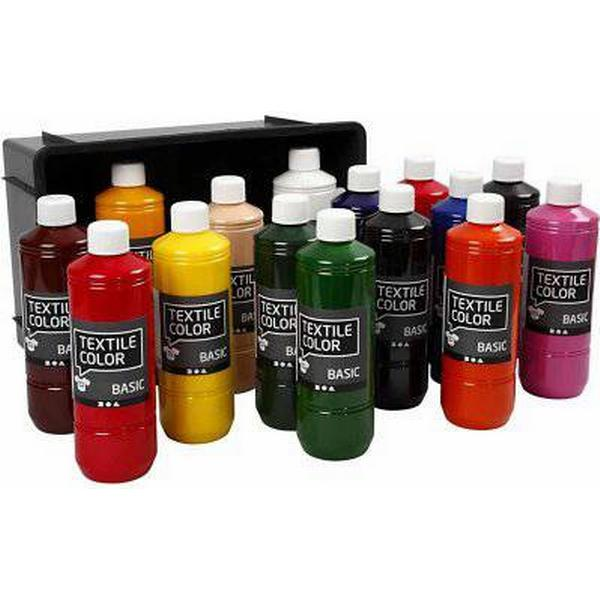 Textile Color Paint Basic Colors 15x500ml