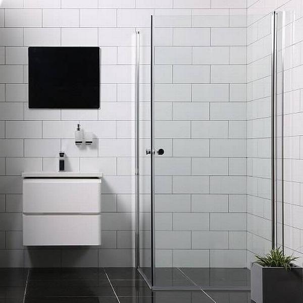 Bathlife Mångsidig (728520) Brusehjørne 1000x1000mm