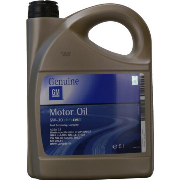 GM Opel 5W-30 Dexos 2 Fuel Economy Longlife Motor Oil
