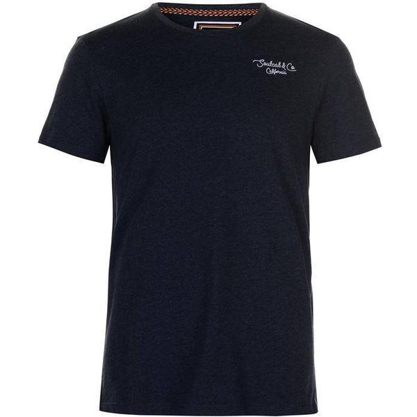 SoulCal Stripe T-shirt - Navy Micro Str