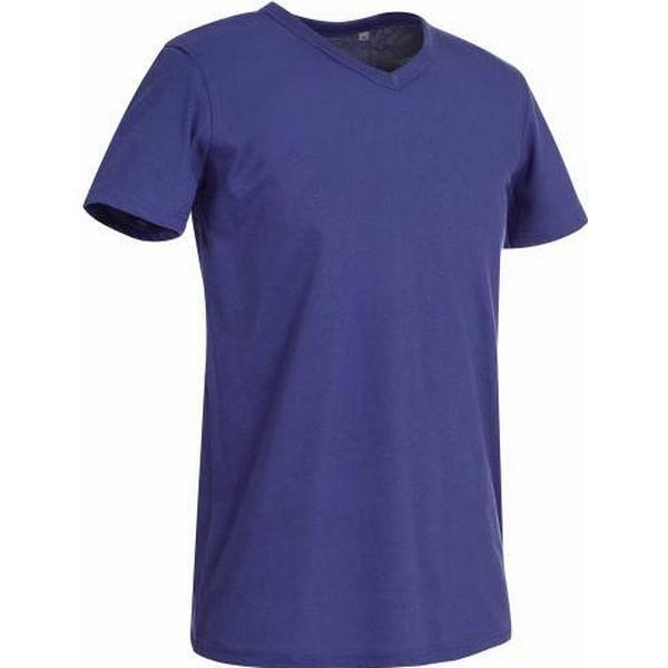 Stedman Ben V-neck T-shirt - Deep Lilac