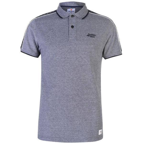 SoulCal Deluxe Birdseye Polo Shirt Blue