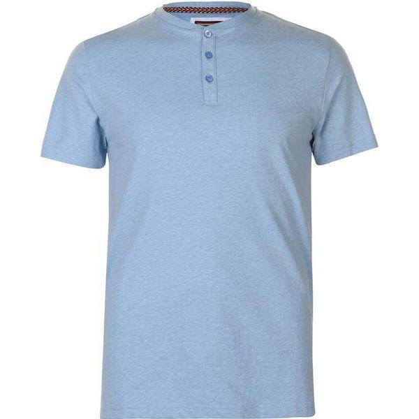 SoulCal Grandad T-shirt Blue Marl