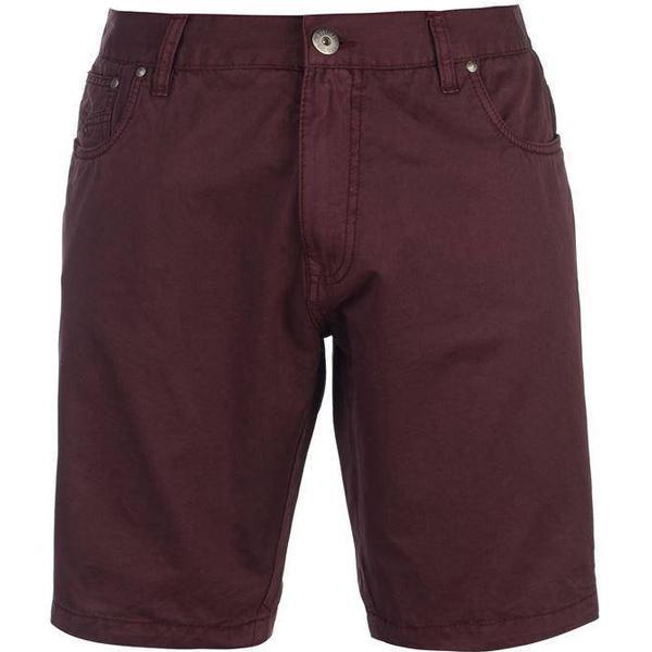 Firetrap Chino Shorts Burgundy