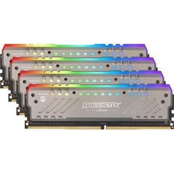 Crucial Ballistix Tactical Tracer RGB DDR4 3000MHz 4x16GB (BLT4C16G4D30BET4)