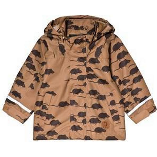 Mini Rodini Edelweiss Mouse Jacket - Brown (1861010216)