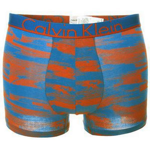 Calvin Klein ID Cotton Trunk - Orange Patterned