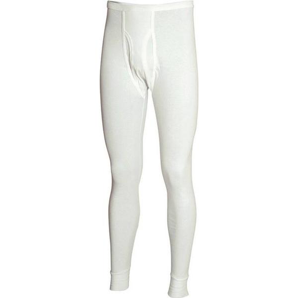 Olympia Classic Long Johns White
