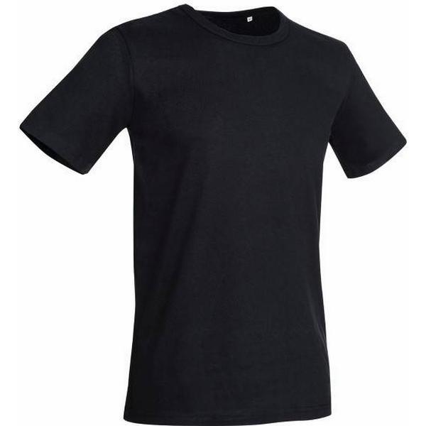 Stedman Morgan Crew Neck T-shirt - Black Opal