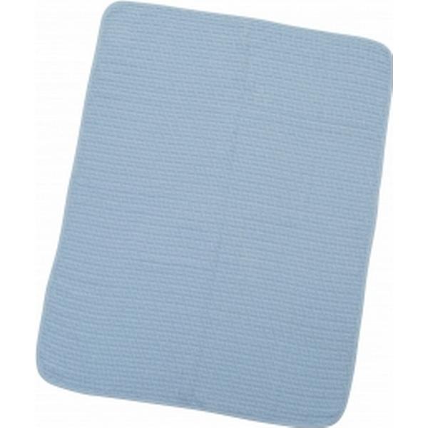 Rätt Start Våffelfilt Cotton Blue 75x100cm