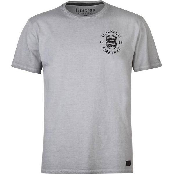 Firetrap Snake T-shirt Oil Wash