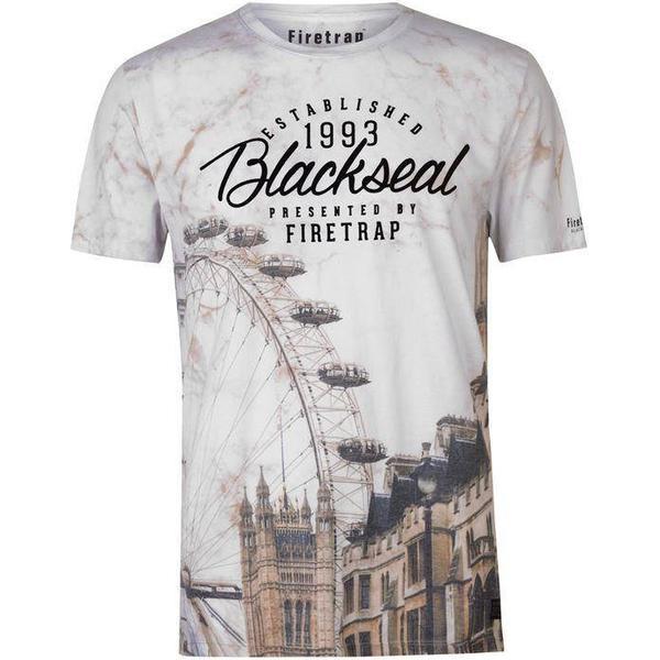 Firetrap Blackseal London T-shirt White