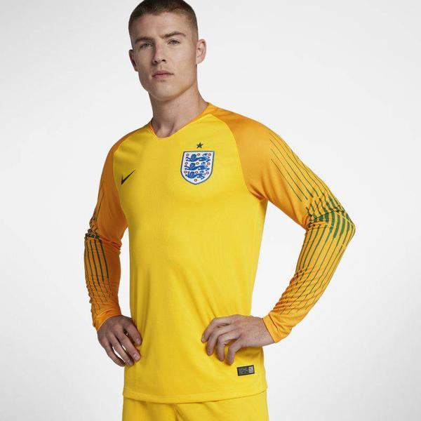 Nike England World Cup Goalkeeper Home Stadium LS Jersey 18/19 Sr