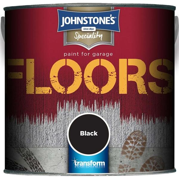 Johnstones - Floor Paint Black 0.75L