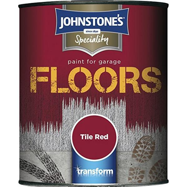 Johnstones - Floor Paint Red 0.25L