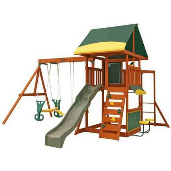Kidkraft Brookridge Wooden Swing Set