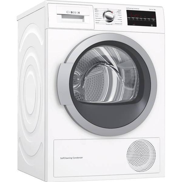 Bosch WTW87478SN Hvid