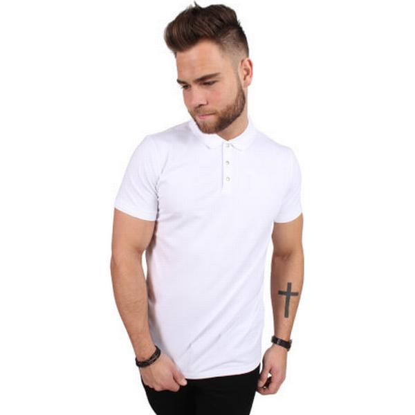 Selected Classic Polo Shirt White/Bright White