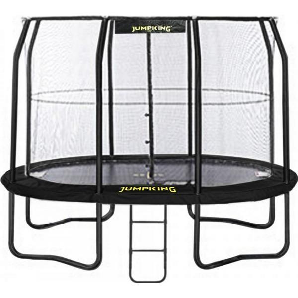 Jumpking Oval JumpPod Trampoline 350x244cm