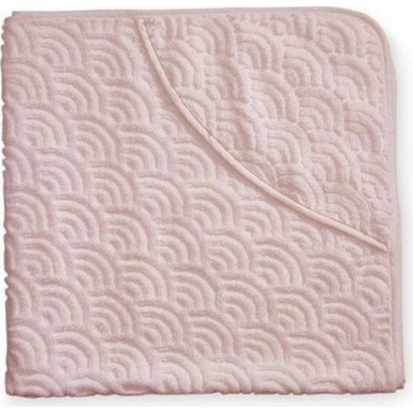 Cam Cam Baby Towel Hooded Rose