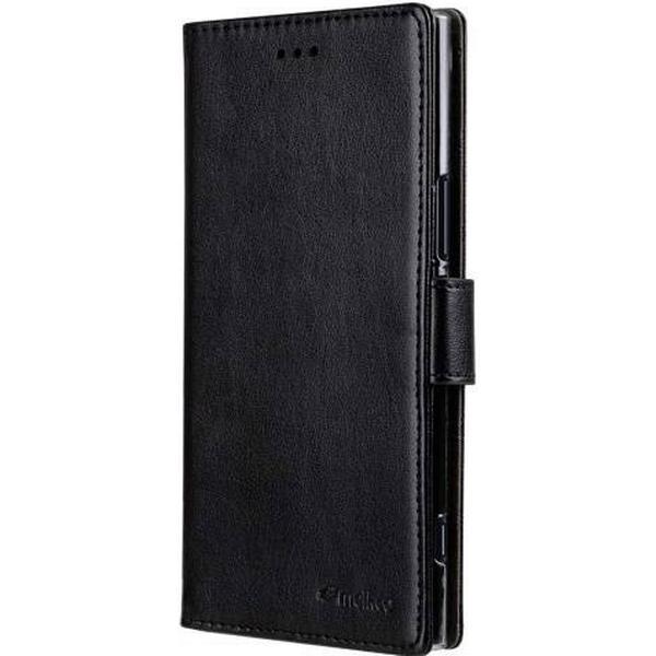 Melkco PU Leather Wallet Book Clear Case (Xperia XZ1)