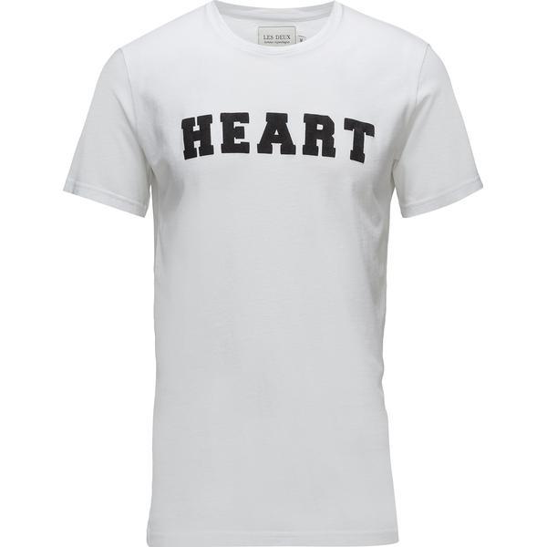 Les Deux Honolulu T-shirt White/Black