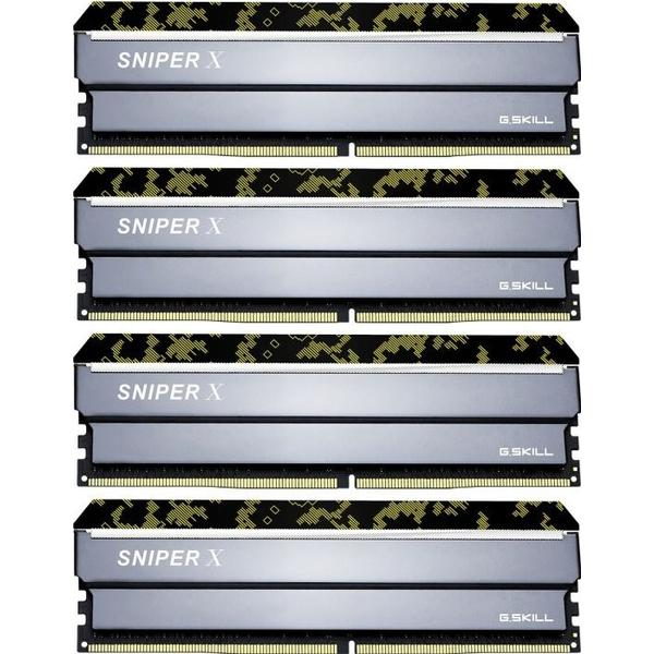 G.Skill Sniper X DDR4 3600MHz 4x8GB (F4-3600C19Q-32GSXKB)