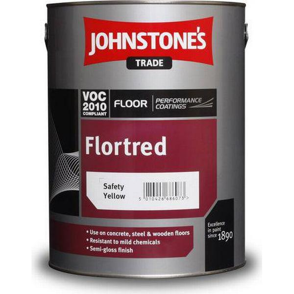 Johnstone's Trade Flortred Floor Paint White 5L
