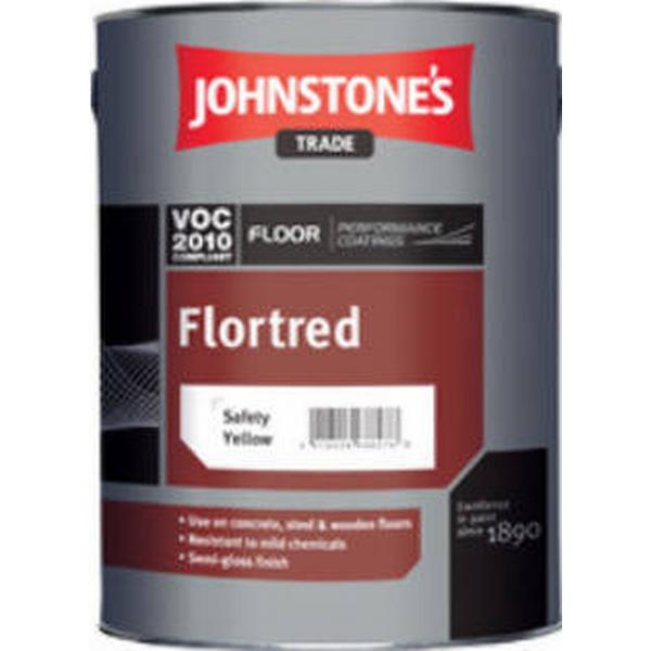 Johnstone's Trade Flortred Floor Paint Black 2.5L