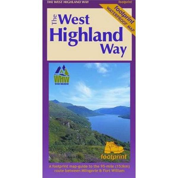 The West Highland Way (Footprint Map) (Karta, Falsad., 2017)