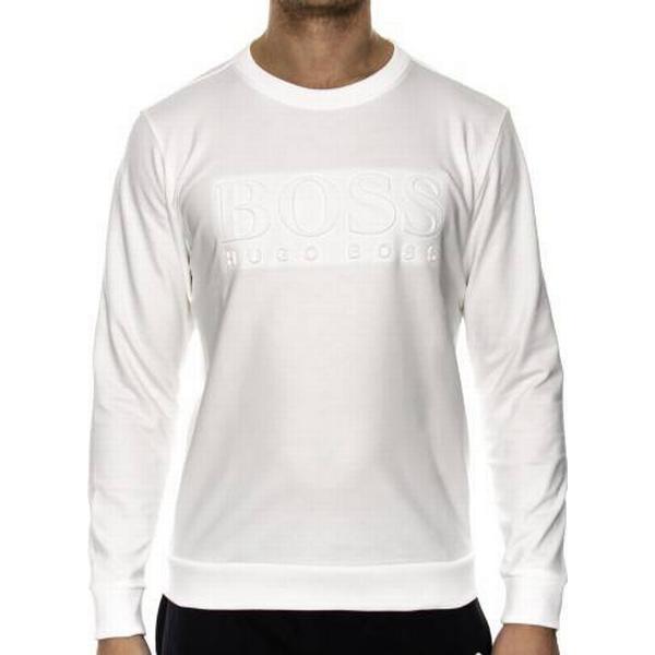 Hugo Boss French Terry Sweatshirt White