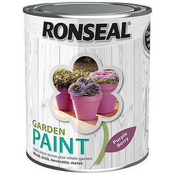 Ronseal Garden Wood Paint Purple 0.75L