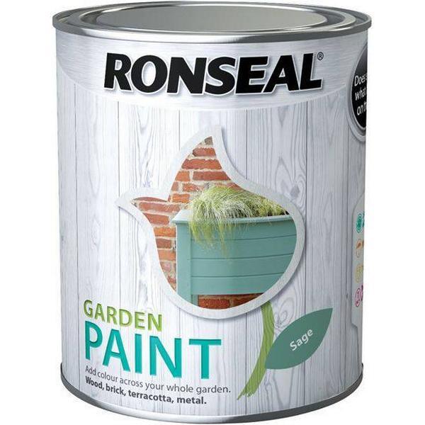 Ronseal Garden Wood Paint Green 0.25L