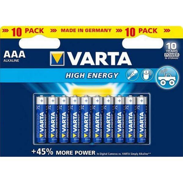 Varta AAA High Energy 10-pack