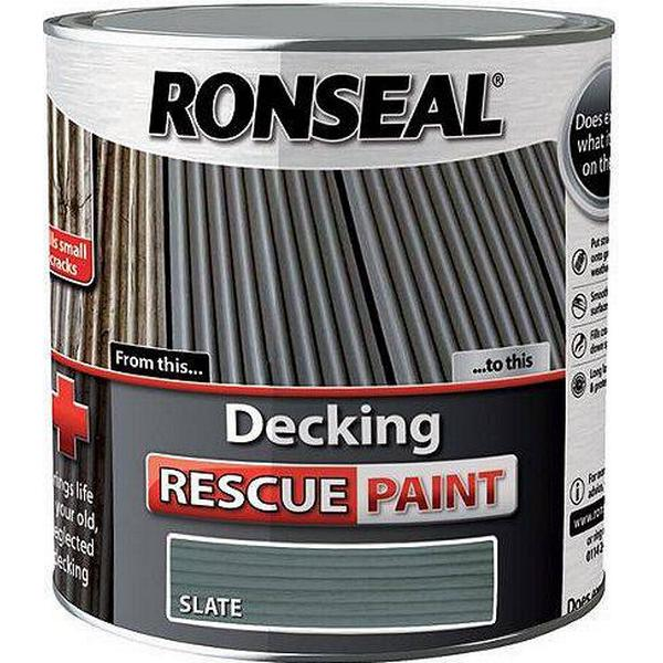 Ronseal Decking Rescue Wood Paint Grey 2.5L